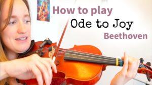 Free Online Violin Lesson 2