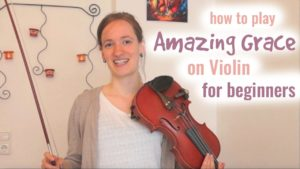 Free Online Violin Lesson Amazing Grace