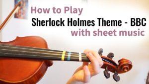 Free Online Violin Lesson Sherlock Holmes
