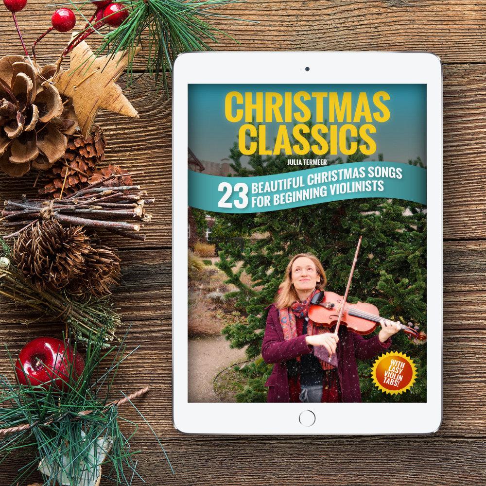 Christmas Violin.Christmas Classics 23 Beautiful Christmas Songs For The Beginner Violinist