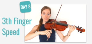 Finger Speed Violin Lesson Beginner Course