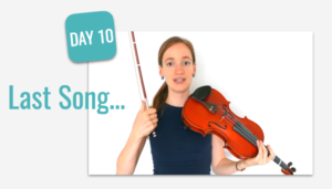 last song beginner course challenge violin