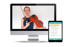 violin beginner course support 2