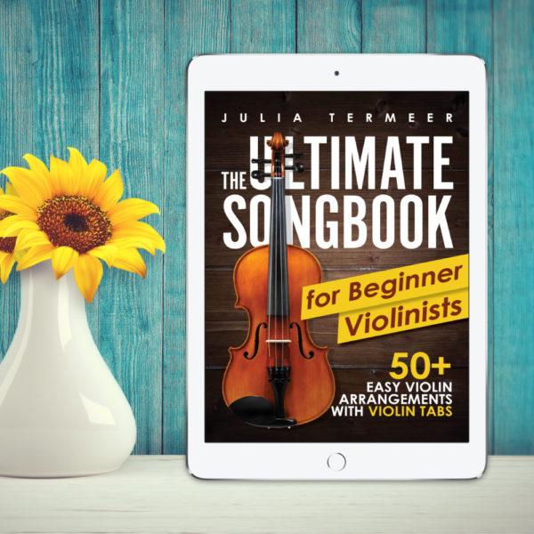 Songbook Beginner Violinists