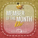 member of the month - do