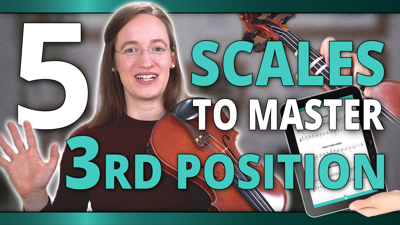 5 Easy Scales to Learn Third Position