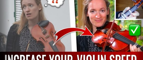 A QUICK and Effective Violin SPEED Building Exercise | A Major in Semiquavers - Violin Lesson