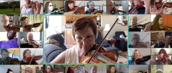 Adult Beginner Worldwide Virtual Orchestra - Violin Lesson
