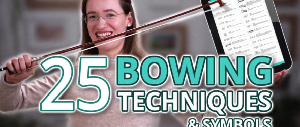 All 25 Violin Bowing Techniques & Symbols - with Free PDF Cheat Sheet