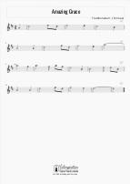Amazing Grace - Violin Sheet Music Tutorial