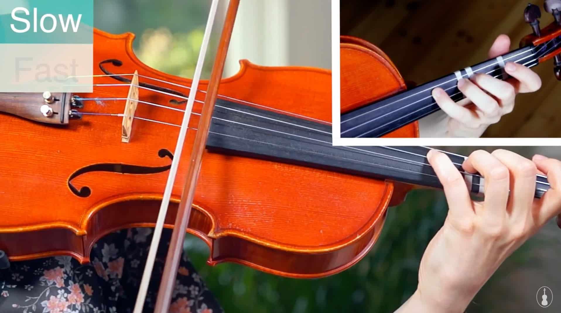 Andantino – Suzuki Violin Book 1