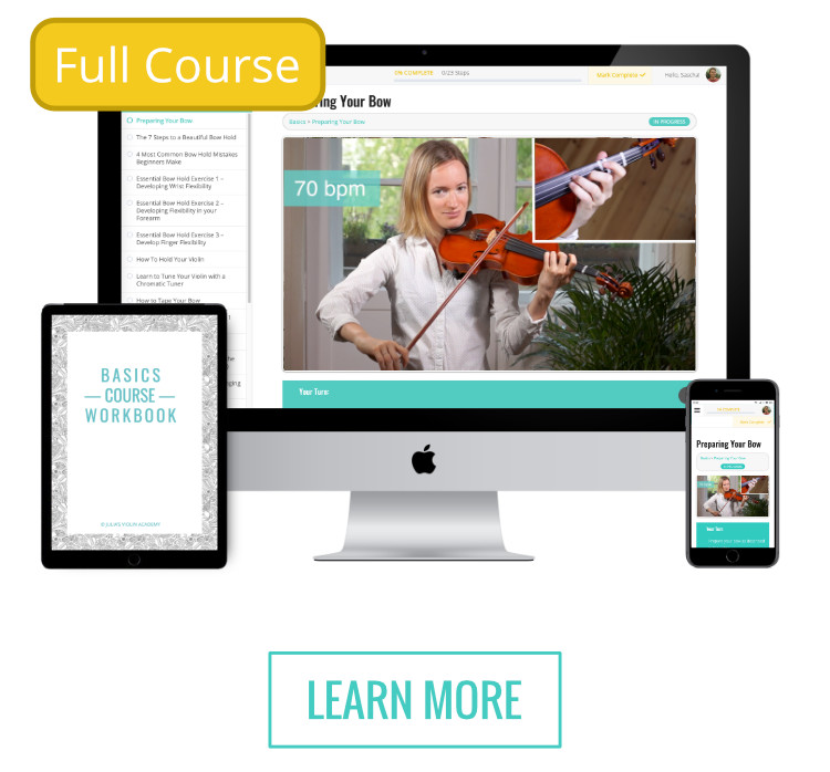 Beginner Bootcamp - Violin Online Program for Adult Beginners (full course)