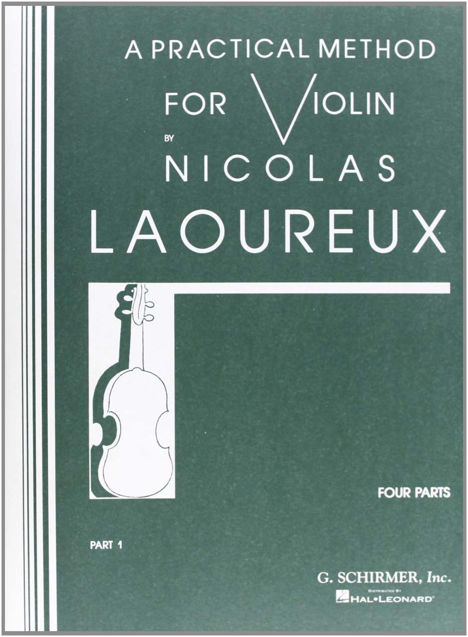Best Violin Books - A Practical Method for Violin by Nicolas Laoureux