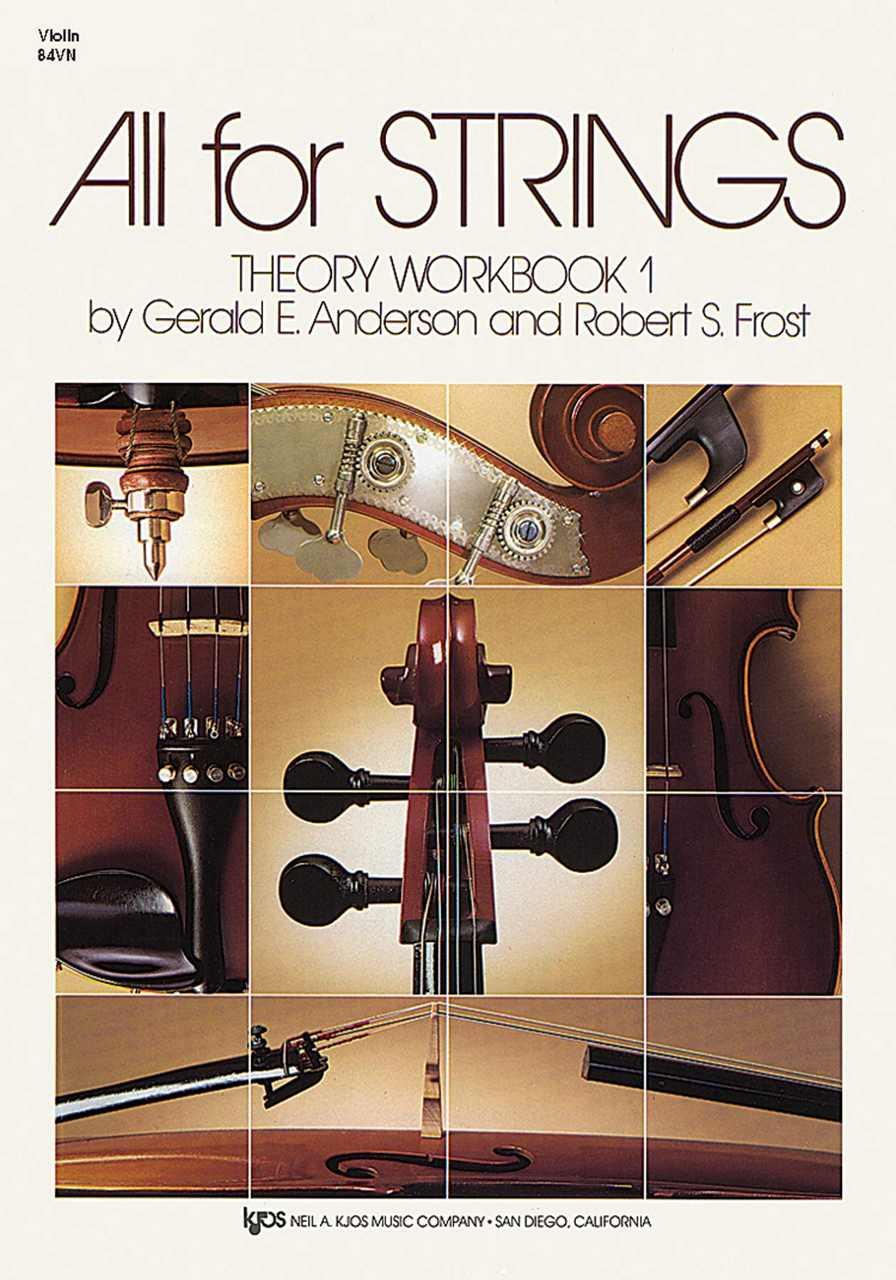 Best Violin Books - All For Strings - Comprehensive String Method - Book 1