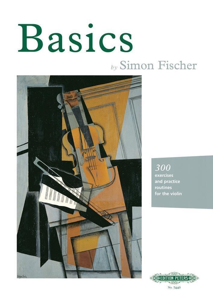 Best Violin Books - Basics by Simon Fischer