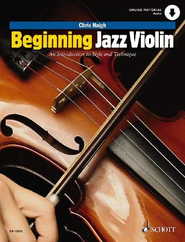 Best Violin Books - Beginning Jazz Violin An Introduction to Style and Technique by Chris Haigh