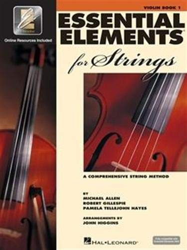 Best Violin Books - Essential Elements For Strings - Book 1