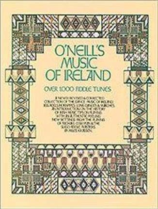 Best Violin Books - O'Neill's Music of Ireland by Miles Krassen