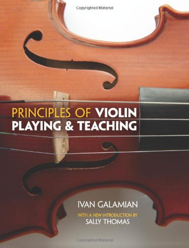 Best Violin Books - Principles of Violin Playing and Teaching by Ivan Galamian