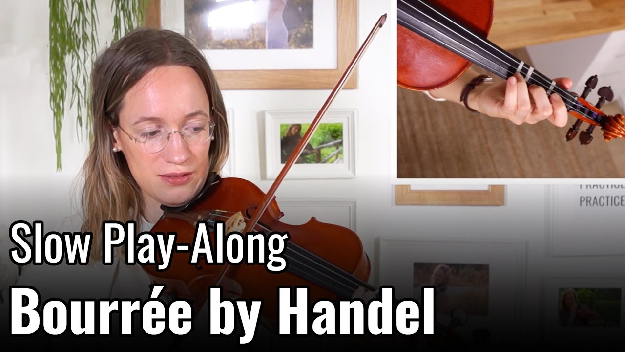 Violin Lesson – Bourrée by G. F. Handel – Suzuki Violin Book 2