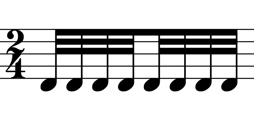Bowing Techniques - Measured Tremolo