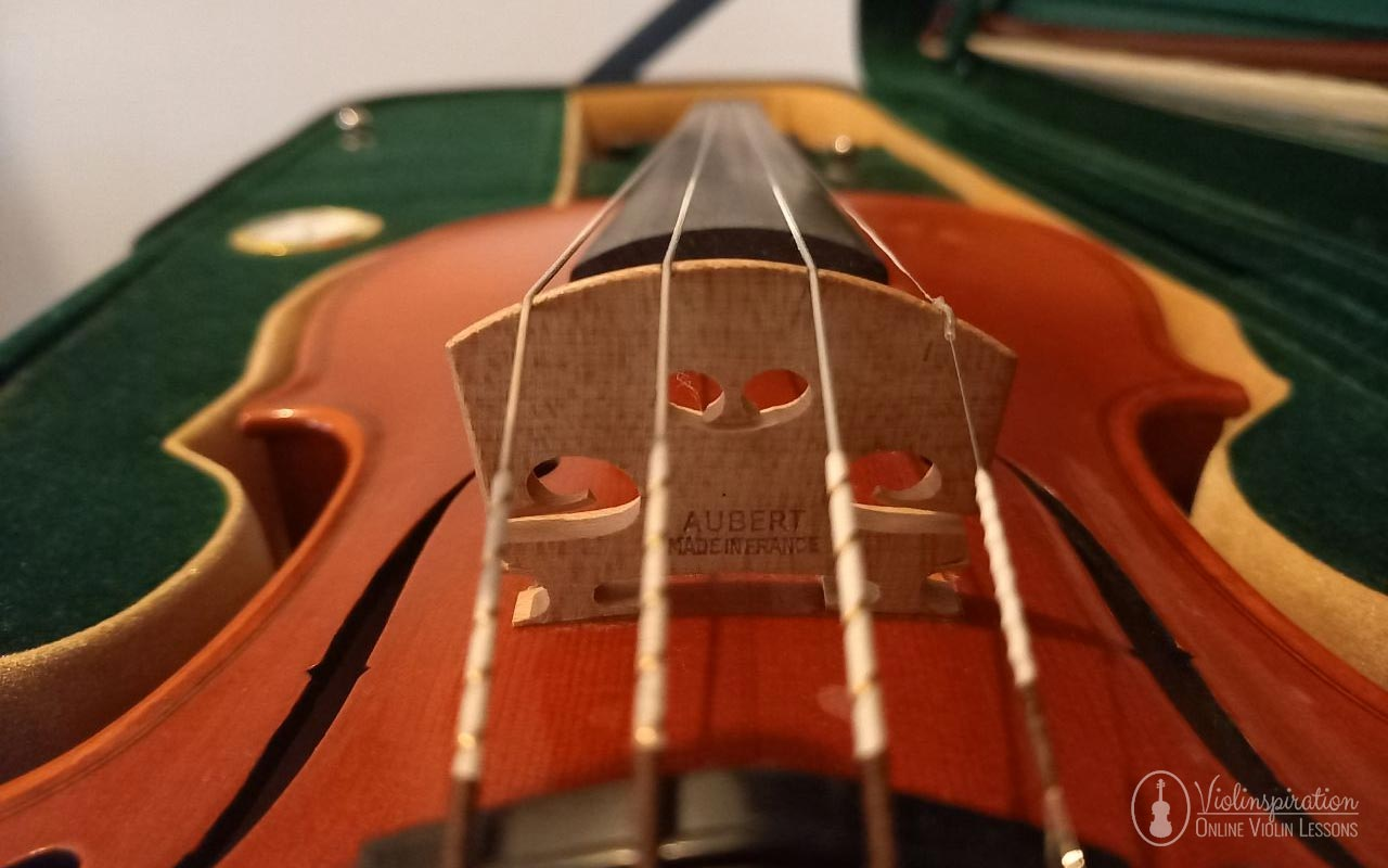 Make Cheap Violin Sound Better - Bridge