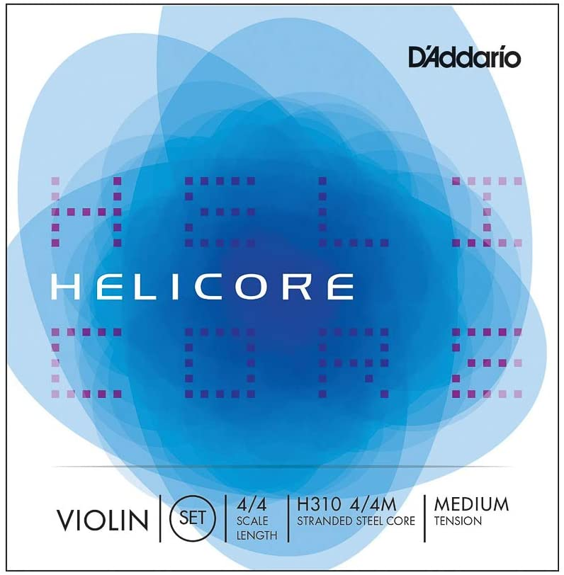 D'Addario Helicore 4/4 Size Violin Strings Set