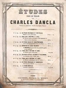 Dancla - 36 Easiest Melodic Studies Op. 84