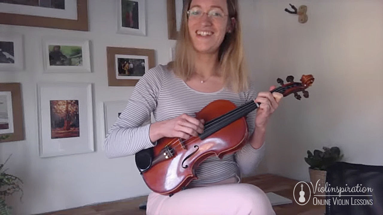 Differences between a violin and a guitar - violin as a guitar