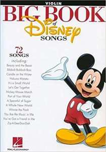 Disney Songs - Violin Sheet Music Tutorial