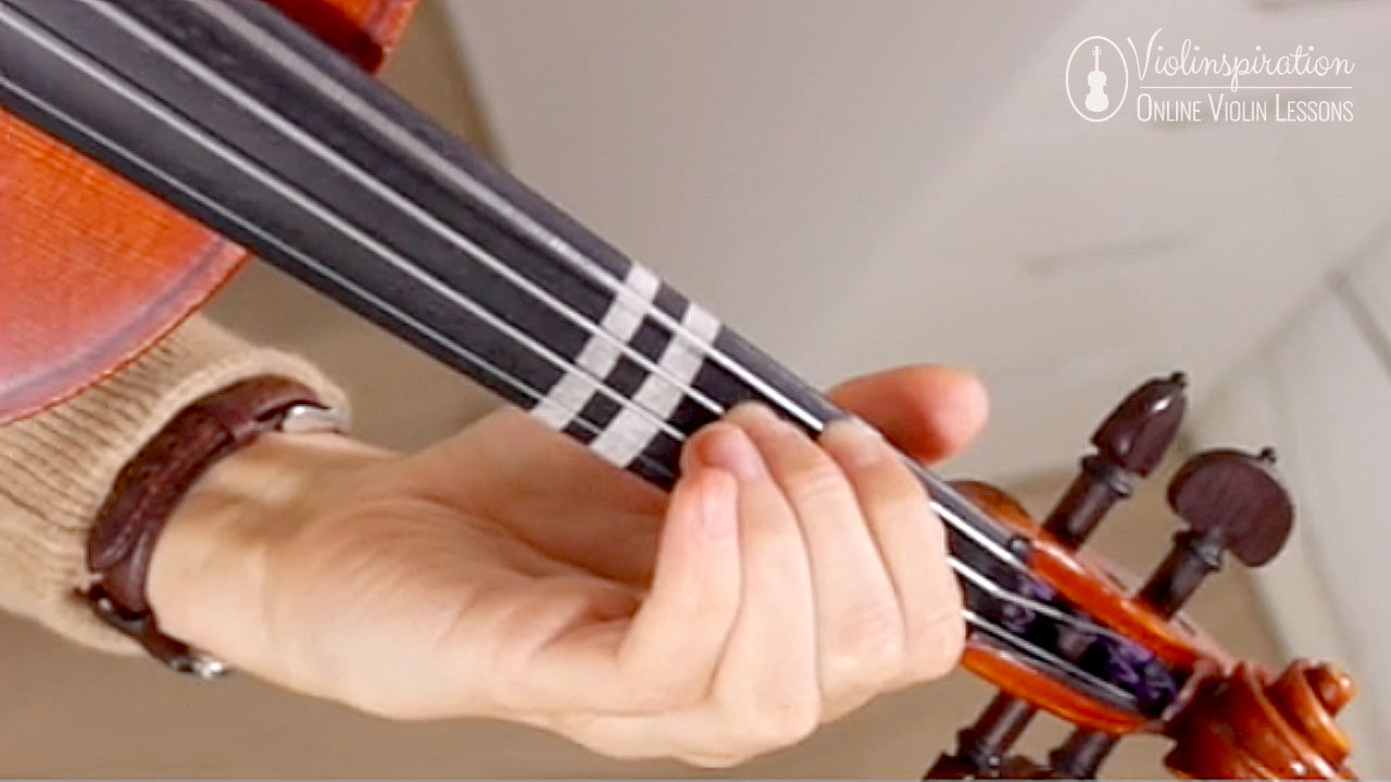 Double Stops on the Violin