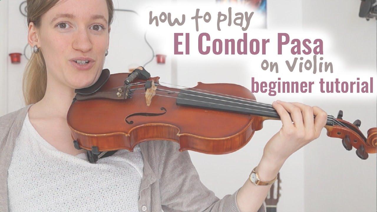 El Condor Pasa Violin Sheet Music Tutorial