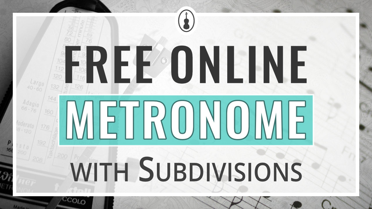 Free Online Metronome with Subdivisions – thumbnail