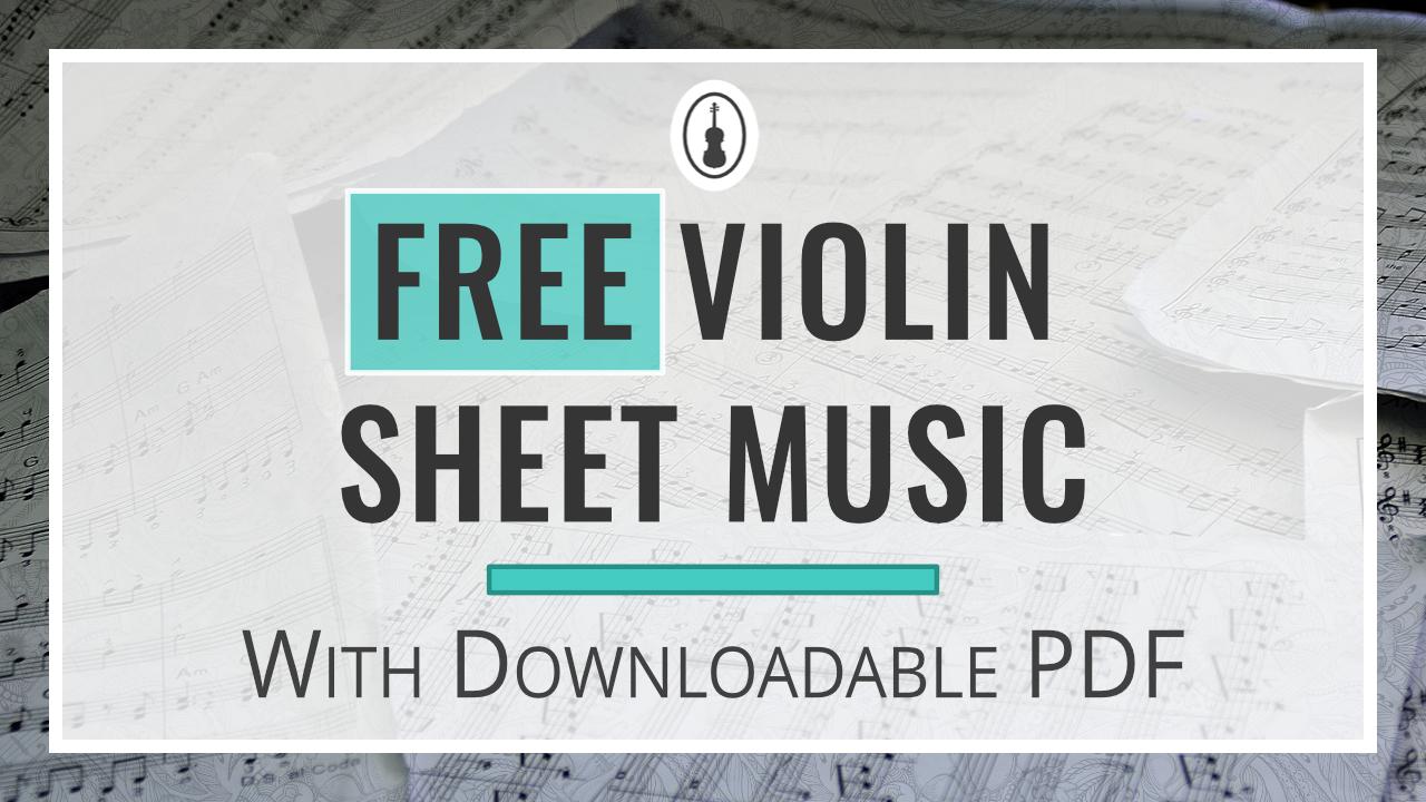 Free Violin Sheet Music – Violinspiration.com