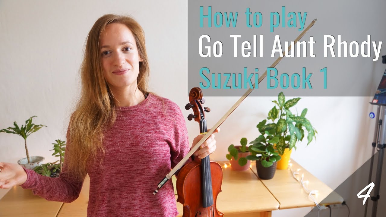 Go Tell Aunt Rhody – Suzuki Violin Book 1
