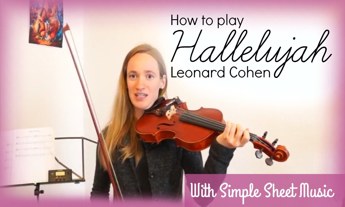 Hallelujah – Leonard Cohen (how to play)