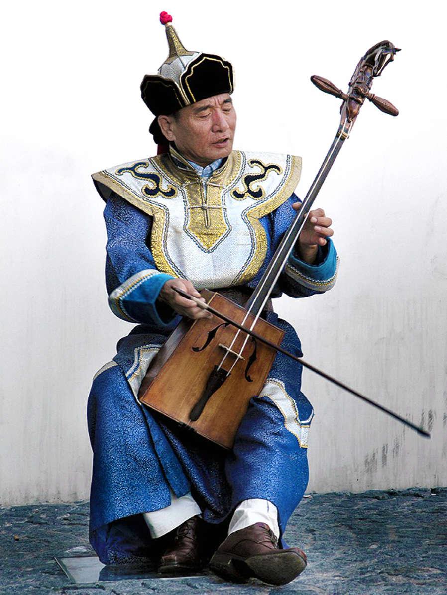 History of The Violin - Morin Khuur