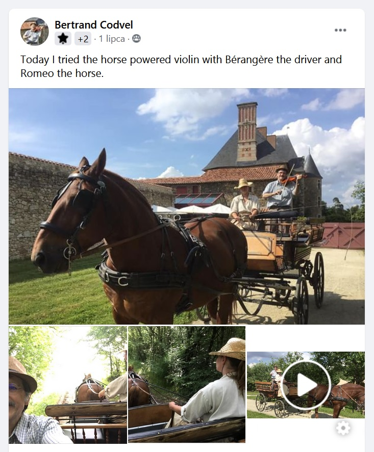 Horse Powered Violin