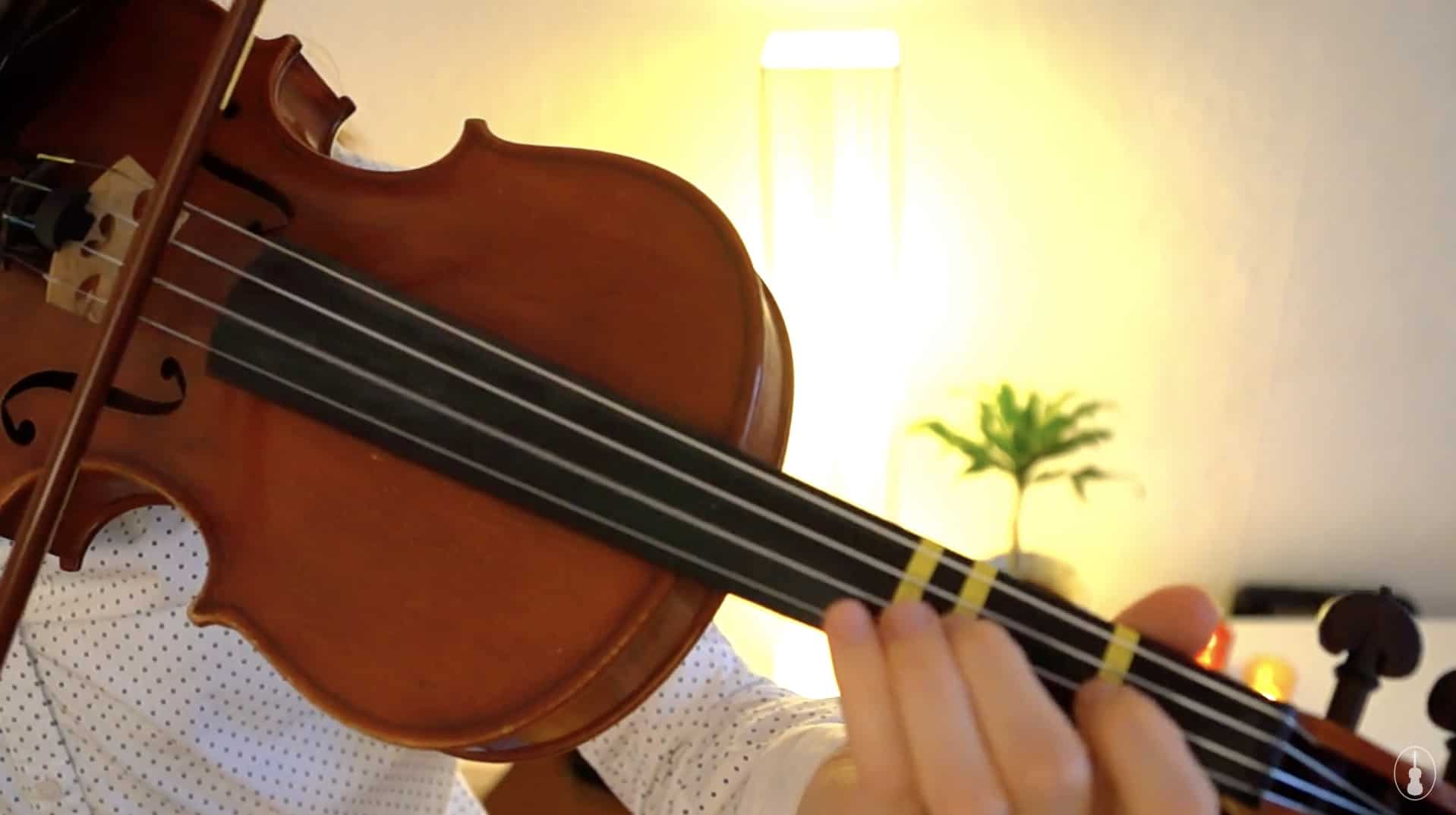 How To Play Angels We Have Heard On High – Violin Lesson