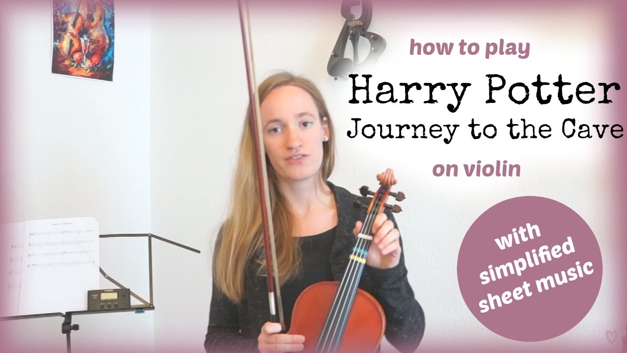 How to Play Harry Potter – Journey to the Cave – Violin Lesson