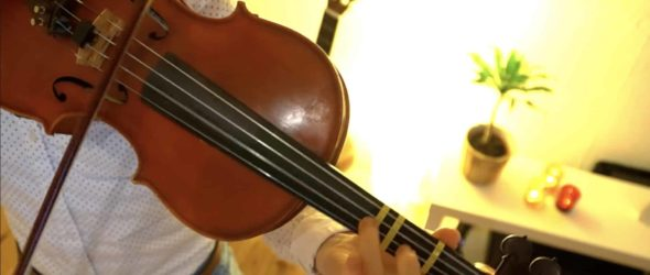 How to play Carol of the Bells - Violin Lesson