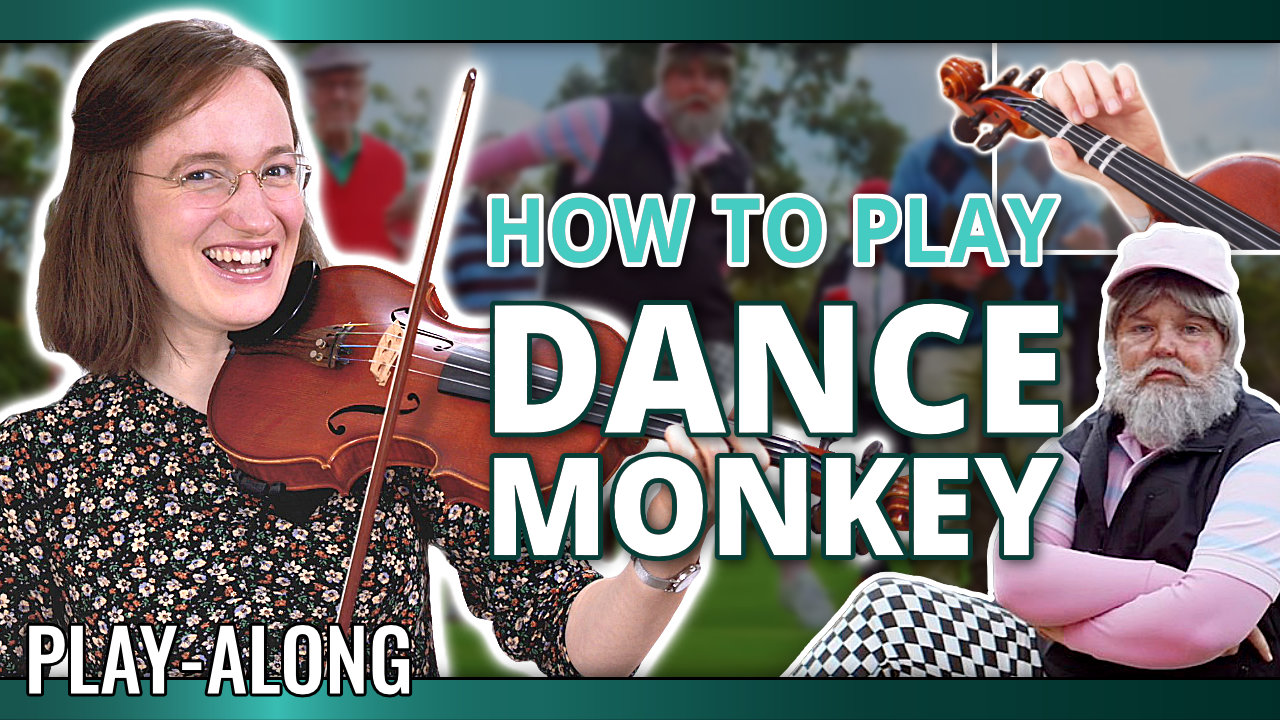 How to play Dance Monkey – Play-Along Violin Tutorial