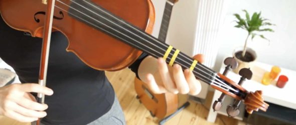 How to play Dance of the Sugar Plum Fairy - Violin Lesson