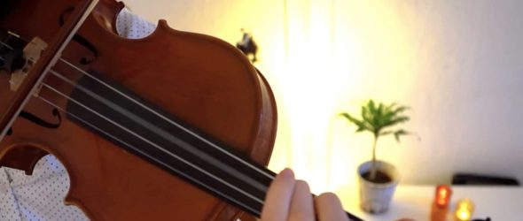 How to play Deck the Halls - Violin Lesson