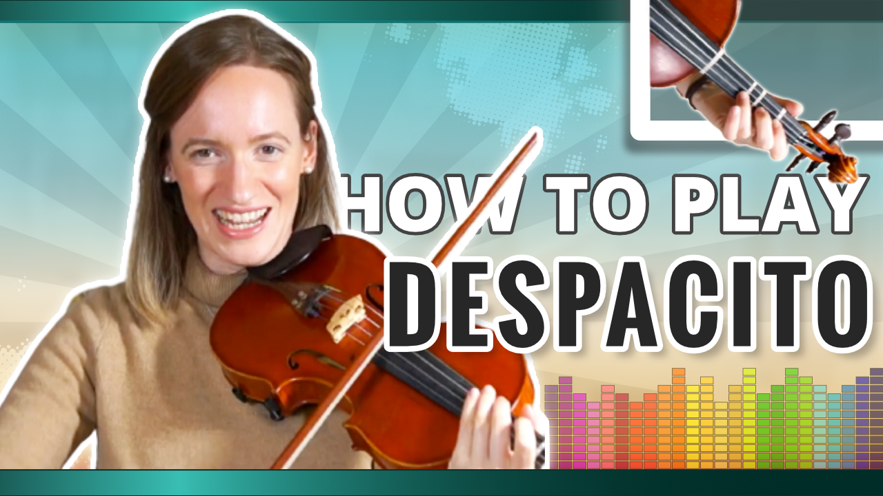 How to play Despacito | Explanation | Violin Tutorial (1)