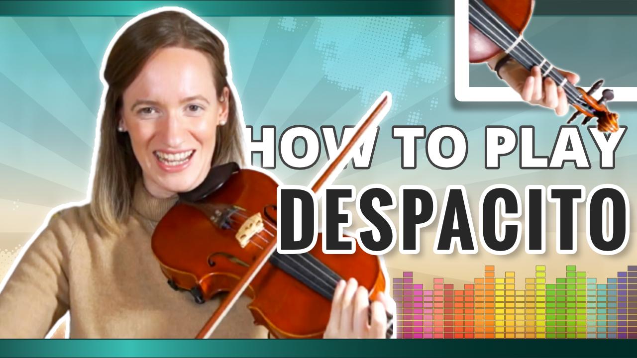 How to play Despacito | Explanation | Violin Tutorial (1)