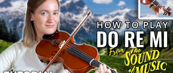How to play Do Re Mi from The Sound of Music - Play-Along - Viol