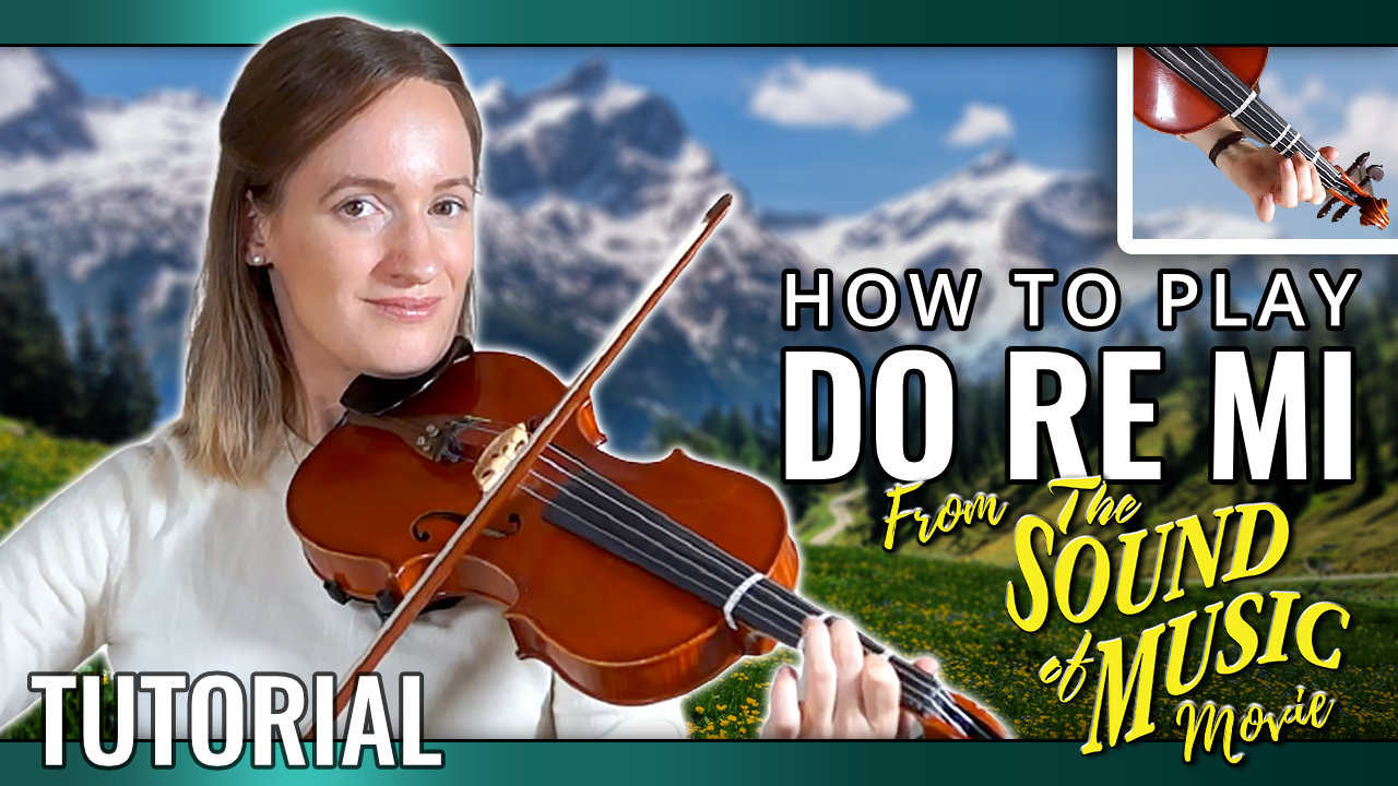 How to play Do Re Mi from The Sound of Music – Play-Along – Viol
