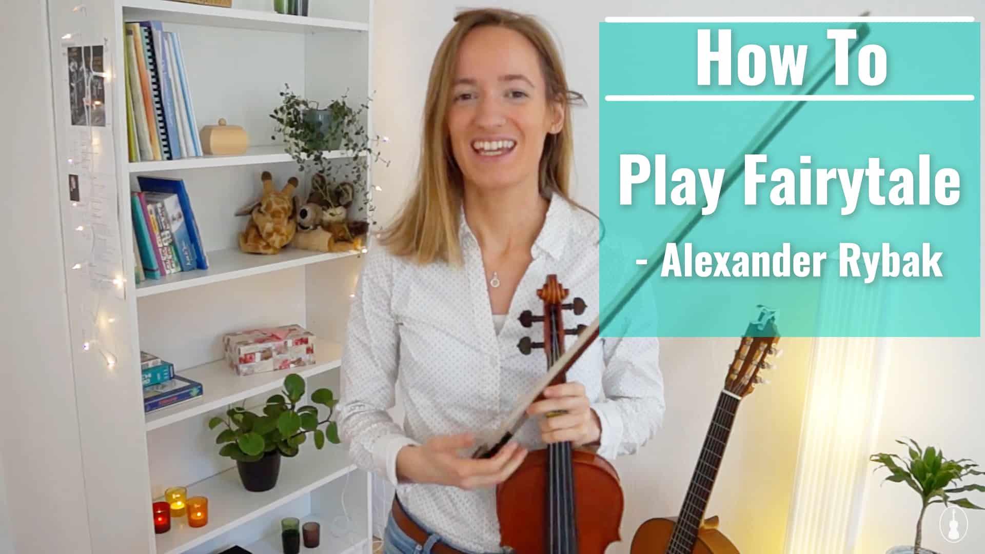 How to play FAIRYTALE – Alexander Rybak