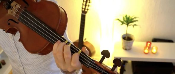 How to play Good King Wenceslas - Violin Lesson